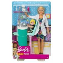 Barbie Gyerekfogorvos baba játékszett