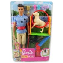 Barbie Ken Kutyaidomár baba játékszett