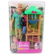 Barbie Ken Vadállat orvos játékszett