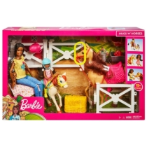 Barbie baba és Chelsea Lovas szett