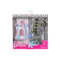 Barbie és Ken Fashion szett kockás