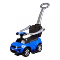 Bébitaxi 3 az 1-ben sportautó hanggal és fénnyel kék