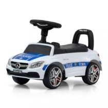 Bébitaxi Mercedes - AMG C63 Coupe fehér, rendőr matricával