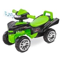 Bébitaxi Mini Raptor quad hanggal zöld