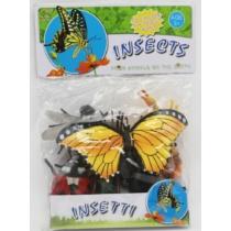 Bogár és rovar gyűjtemény műanyag zacskós