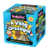 Brainbox A világ országai ismeretterjesztő játék
