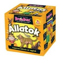 Brainbox Állatok ismeretterjesztő játék