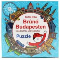 Brúnó Budapesten Puzzle 121 db-os
