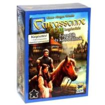 Carcassonne társasjáték Fogadók és Katedrálisok 1. kiegészítő