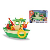 Charly halászbárka figurával és kiegészítőkkel