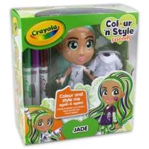 Crayola Colour 'n' Style Friends Jade Dekorálható baba
