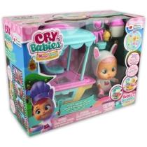 Cry Babies Magic Tears Coney mobil sütödéje játékszett