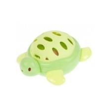 Csörgő teknős zöld