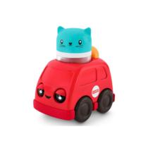 Csörgős jármű piros autó Fisher-Price