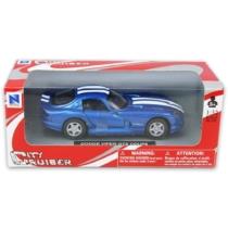 Dodge Viper GTS Coupe kék fémautó 1:32