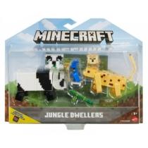 Dzsungellakók játékszett kiegészítőkkel Minecraft