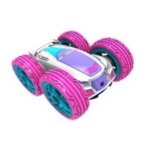 Elektromos trükk autó mini flip pink