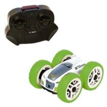 Elektromos trükk autó mini flip zöld