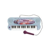 Elektromos zongora mikrofonnal Jégvarázs