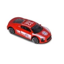 Majorette FC Bayern focista fém kisautó + kártya Joshua Kimmich Audi R8 Coupe