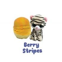 Fagyi cicák Berry stripes sárga