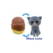 Fagyi cicák Choco Luna barna