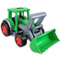 Farmer óriás munkagép zöld-szürke műanyag 100 kg teherbírás