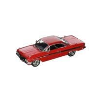 Fast & Furious fém autó 1961 Chevy Impala Dom 1:24