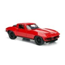 Fast & Furious fém autó 1966 Chevy Corvette Letty 1:24