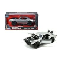 Fast & Furious fém autó 1967 Chevy Camaro Roman 1:24