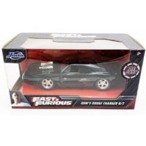 Fast & Furious fém kisautó Dodge Charger R/T Dom