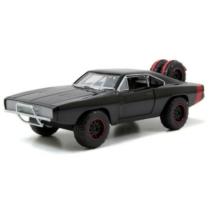 Fast & Furious fém autó Dodge Charger R/T fekete Dom 1:24