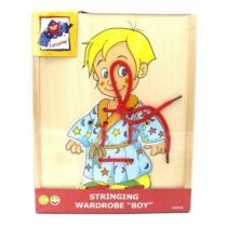 Felfűző képek kisfiú 4 ruhával 10 db-os Woody