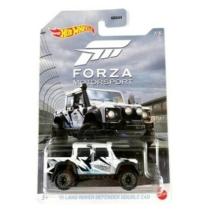 Fém autó '15 Land Rover Defender Double Cab fehér Forza Motorsport Hot Wheels