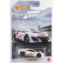 Fém autó '17 Acura NSX fehér Forza Motorsport Hot Wheels