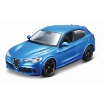 Fém autó Alfa Romeo Stelvio kék 1:24 Bburago