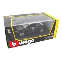 Fém autó Audi A1 fekete 1:24
