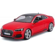Fém autó Audi RS 5 Coupé piros 1:24 Bburago
