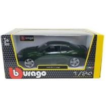 Fém autó Audi RS 5 Coupé sötétzöld 1:24 Bburago