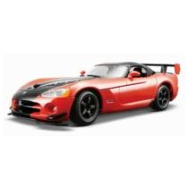 Fém autó Dodge Viper SRT 10 ACR narancs-fekete 1:24