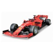 Fém autó F1 Ferrari SF90 Australian GP C. Leclerc piros 1:18 Bburago