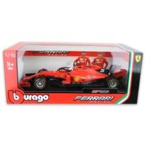 Fém autó F1 Ferrari SF90 Australian GP Sebastian Vettel piros 1:18 Bburago