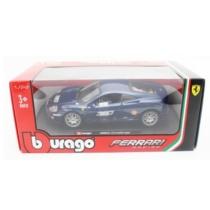Fém autó Ferrari 360 Challenge kék 1:24 Bburago
