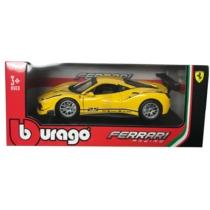 Fém autó Ferrari 488 Challenge sárga 1:24 Bburago