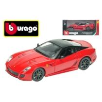 Fém autó Ferrari 599 GTO piros 1:24 Bburago