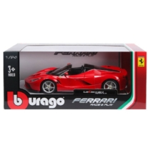 Fém autó Ferrari LaFerrari Aperta piros 1:24