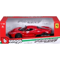 Fém autó Ferrari LaFerrari piros 1:18 Bburago