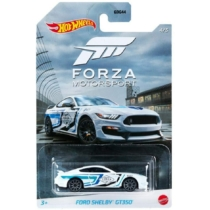 Fém autó Ford Shelby GT350 fehér Forza Motorsport Hot Wheels