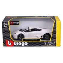 Fém autó Lamborghini Reventón fehér 1:24 Bburago