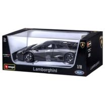 Fém autó Lamborghini Reventon fekete 1:18